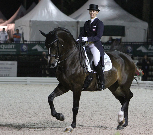 Mikala Gundersen and My Lady. © 2014 Ken Braddick/dressage-news.com