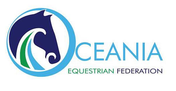 Oceania Equestrian Federation Logo