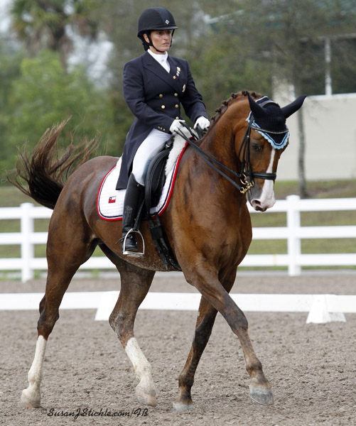 Virginia Yarur of Chile, an amateur rider seeking to qualify for the Pan American Games. ©SusanJStickle.com