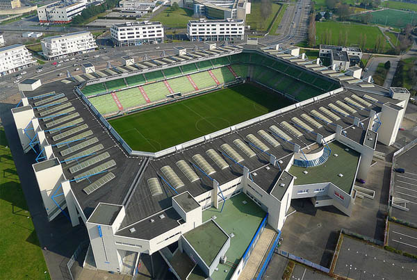 D'Ornano Stadium in Caen, venue for World Equestrian Games dressage.