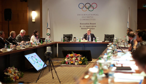 The International Olympic Committee executive board meeting in Turkey. © 2014 IOC/Mine Kasapoglu