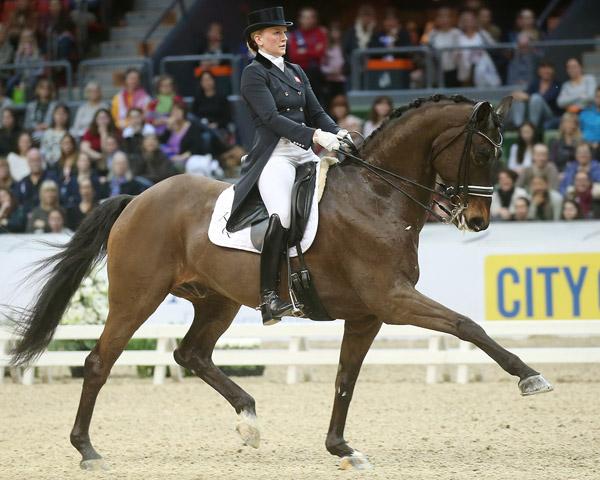 Nanna Skodborg Merrald and Millibar. Photo: Roland Thunholm/FEI