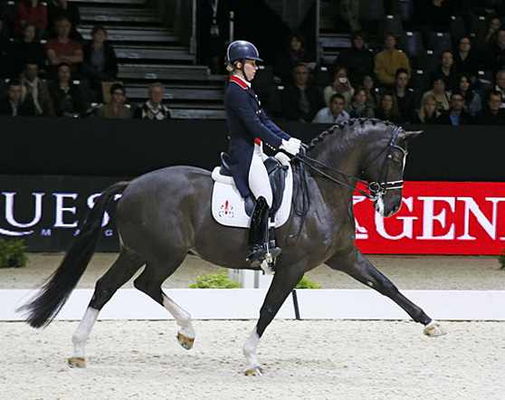 Charlotte Dujardin and Valegro showing how it's done. © 2014 Jenny Abrahamsson/WorldofShowJumping.com