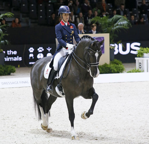 Charlotte Dujardin and Valegro in the World Cup Freestyle. © 2014 Jenny Abrahamsson/WorldofShowJumping.com