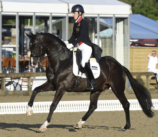 Charlotte Dujardin and Uthopia at Royal Windsor Horse Show. © 2014 Kit Houghton/HPower