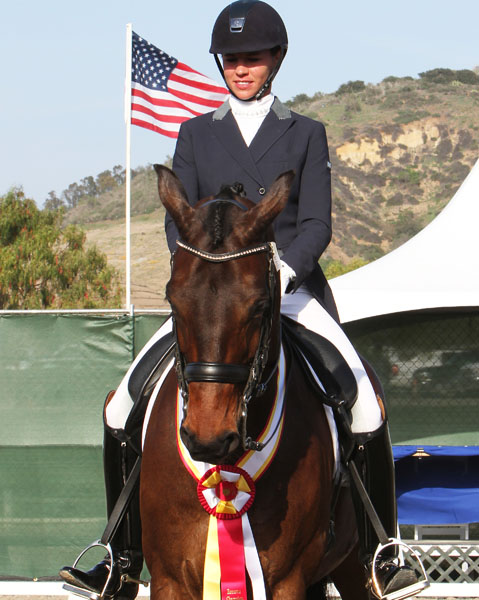 Dawn White-O'Connor and Aristo. © 2014 Ken Braddick/dressage-news.com