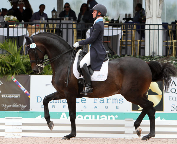 Devon Kane and Destiny. © 2014 Ken Braddick/dressage-news.com