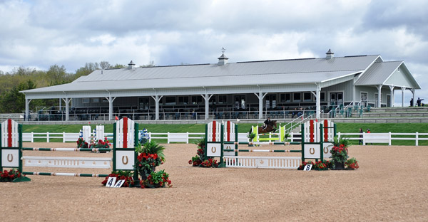 The new pavilion and competition arena at the Caledon Equestrian Center near Toronto that will be used for the 2015 Pan American Games. © 2014 Shoot Photographic