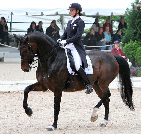 Adrienne Lyle and Wizard. © 2014 Ken Braddick/dressage-news.com