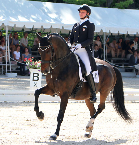 Adrienne Lyle and Wizard competing the US Championships at Gladstone. © 2014 Ken Braddick/dressage-news.com