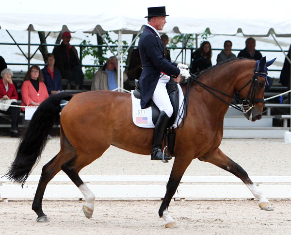 Jan Ebeling on the 17-year-young Rafalca. © 2014 Ken Braddick/dressage-news.com
