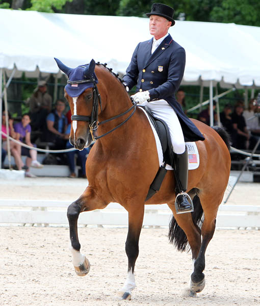 Jan Ebeling and Rafalca. © 2014 Ken Braddick/dressage-news.com