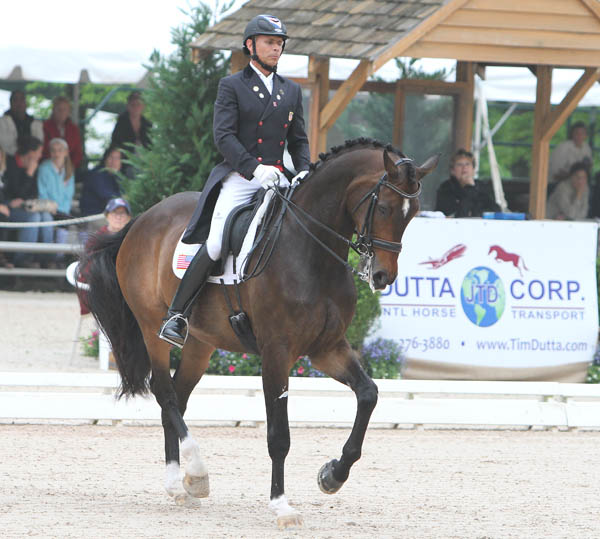 Steffen Peters and Legolas at the Festival of Champions. © 2014 Ken Braddick/dressage-news.com