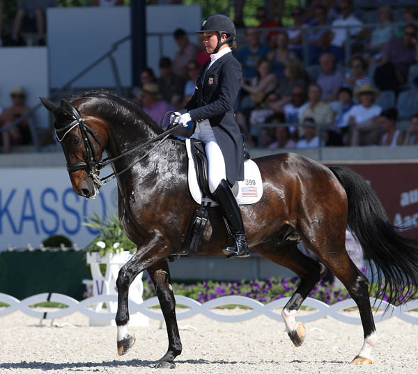 Adrienne Lyle on Wizard at Aachen. © 2014 Ken Braddick/dressage-news.com