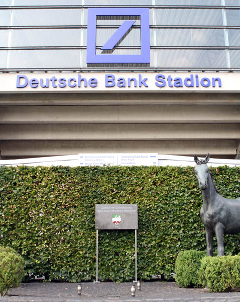 DEUTSCHE BANK STADIUM SIGN IMG_8462