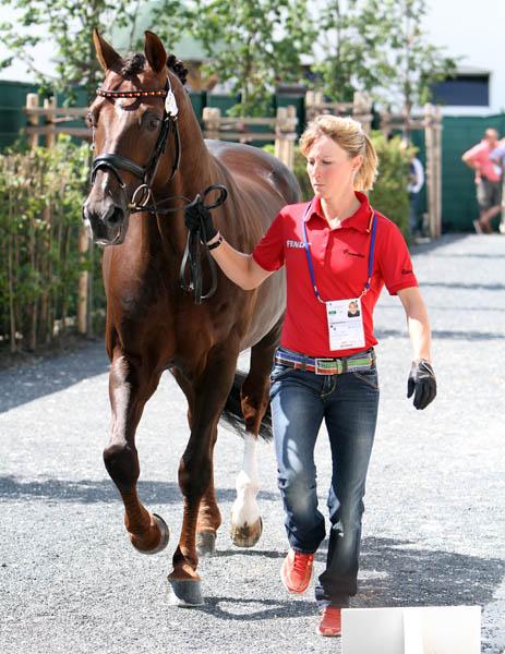 Helen Langehanenberg and Damon Hill NRW. © 2014 Ken Braddick/dressage-news.com