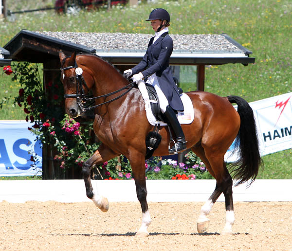 Laura Graves and Verdades of the United States in the Grand Prix Special at Schindlhof CDI4*. © 214 Ken Braddick/dressage-news.com