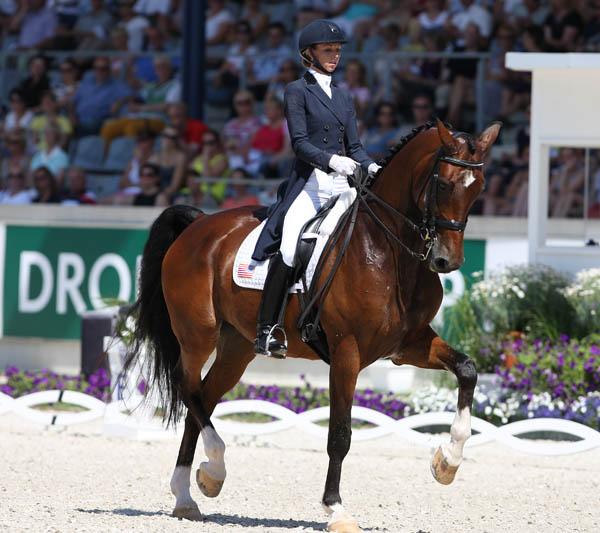 Laura Graves riding Verdades in the CDIO5* Grand Prix Special. © 2014 Ken Braddick/dressage-news.com