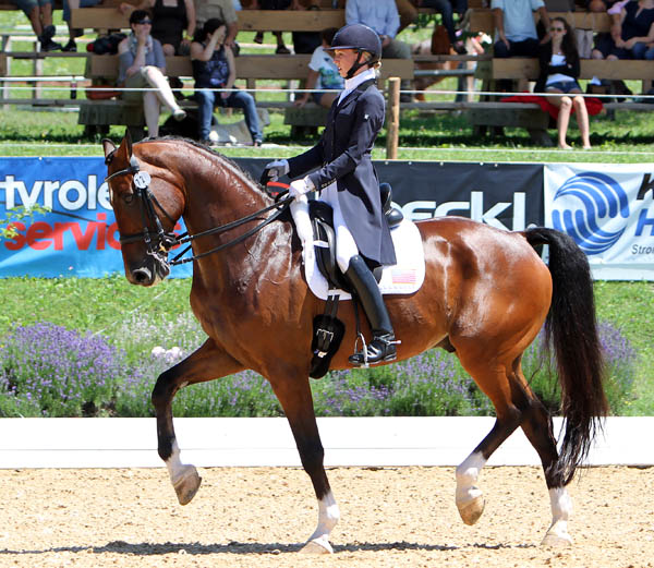 Laura Graves and Verdades in Europe grew into becoming a top American combination. © 2014 Ken Braddick/dressage-news.com