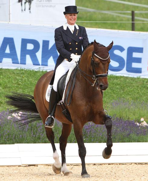 Mary Hanna on Sancette competing for a place on Australia's world championship team. © 2014 Ken Braddick/dressage-news.com