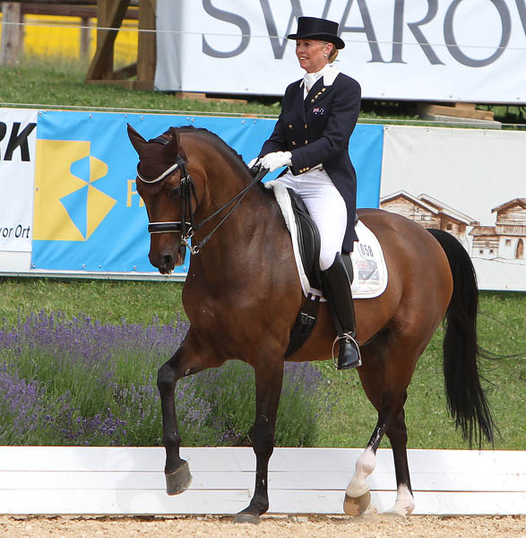 Mary Hanna and Sancette. File photo © Ken Braddick/dressage-news.com