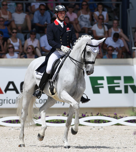 Michael Eilberg on Half Moon Delphi. © Ken Braddick/dressage-news.com