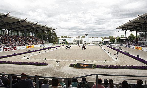 What the Deutsche Bank stadium looked like.