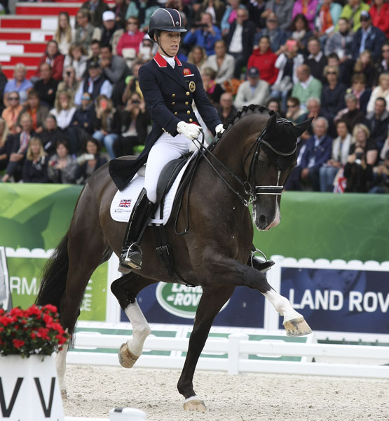 Charlotte Dujardin and Valegro. File Photo. © Ilse Schwarz/dressage-news.com