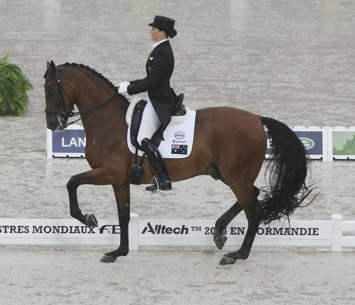 Lyndal Oatley and Sandro Boy © Ilse Schwarz dressage-news.com
