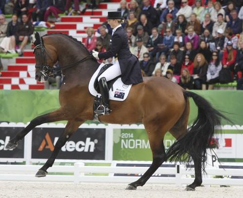 Ronan 2 and Kristy Oatley © Ilse Schwarz dressage-news.com