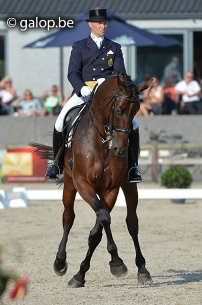 Jeroen Devroe on Eres DL. © galop.be