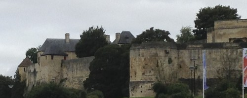 William the Conquerers residence in Caen, France
