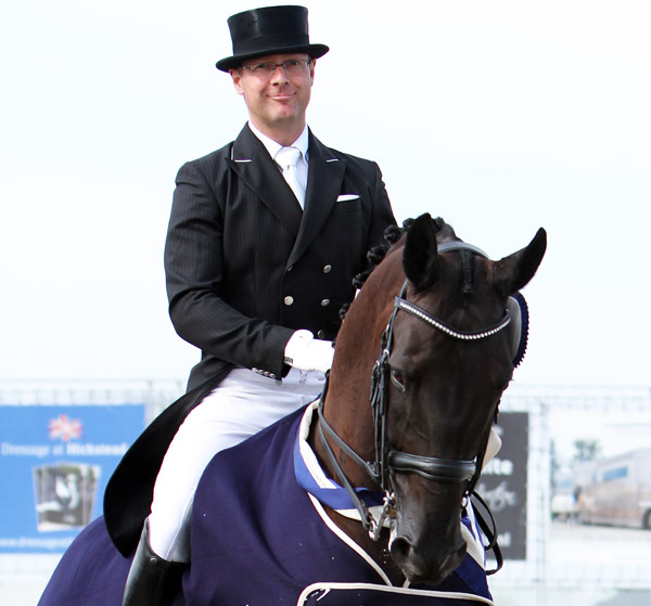 Anders Dahl on Selten HW. © 2014 Ken Braddick/dressage-news.com