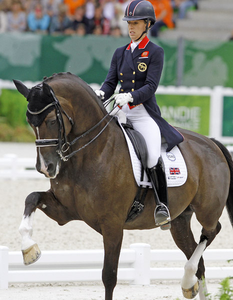 Charlotte Dujardin and Valegro. © 2014 Ken Braddick/dressage-news.com