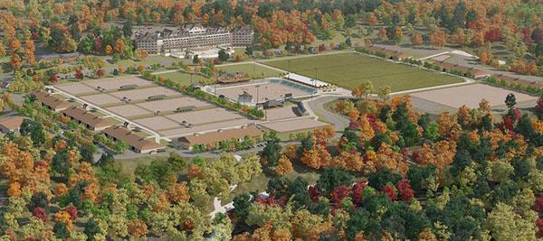 New Tryon North Carolina Equestrian Center Resort