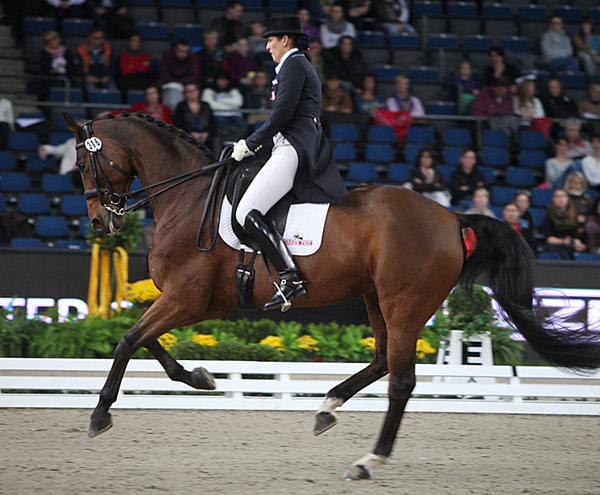 Kathleen Raine and Breanna at the German Masters in Stuttgart.