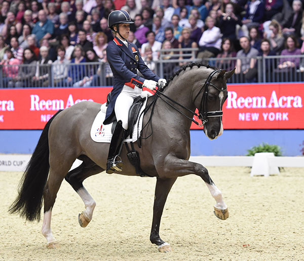 Charlotte Dujardin and Valegro. File photo. © Kit Houghton