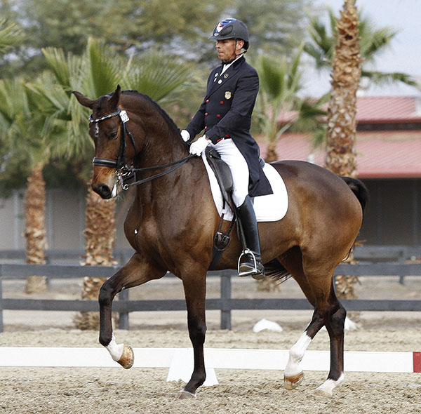 Steffen Peters and Rosamunde to compete at Adequan Global Dressage © 2015 Ken Braddick/dressage-news.com