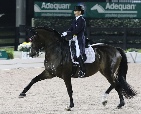 Mikala Gundersen on My Lady. © 2015 Ken Braddick/dressage-news.com