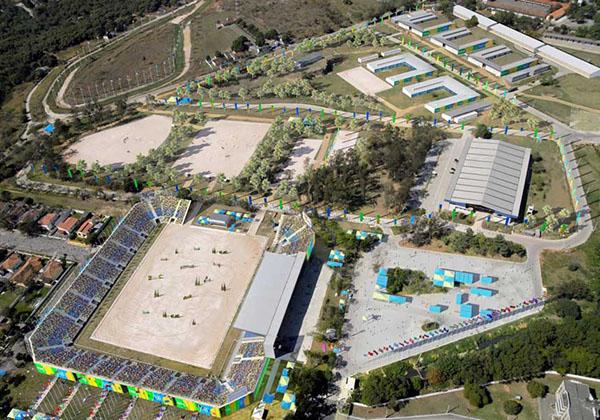 The Olympic equestrian center for the 2016 Rio de Janeiro Games