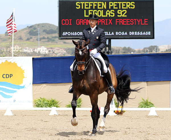 Steffen Peters on Legolas. File photo. © Ken Braddick/dressage-news.com