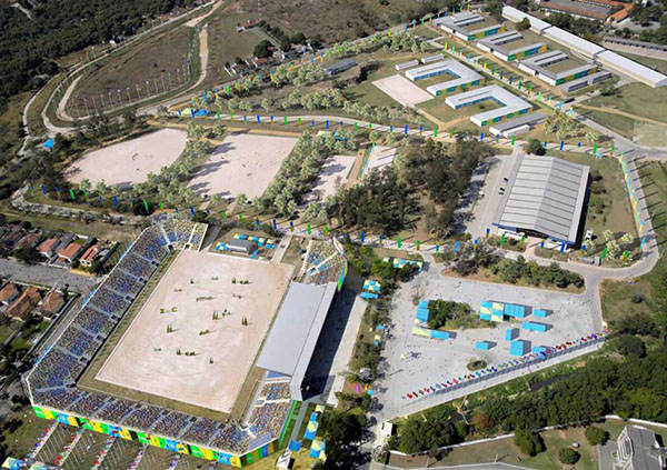 The 2016 Olympic Games  equestrian center.