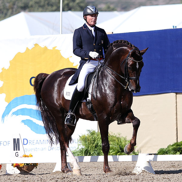 Jan Ebeling and FRH Rassolini. © 2015 Ken Braddick/dressage-news.com