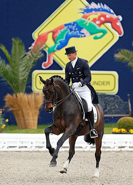 Patrik Kittel and Deja at Horses & Dreams in Hagen. © 2015 Stefan Lafrentz
