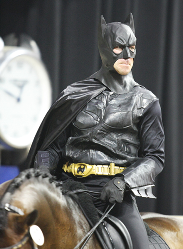 David Blake as Batman ©Ilse Schwarz/dressage-news.com