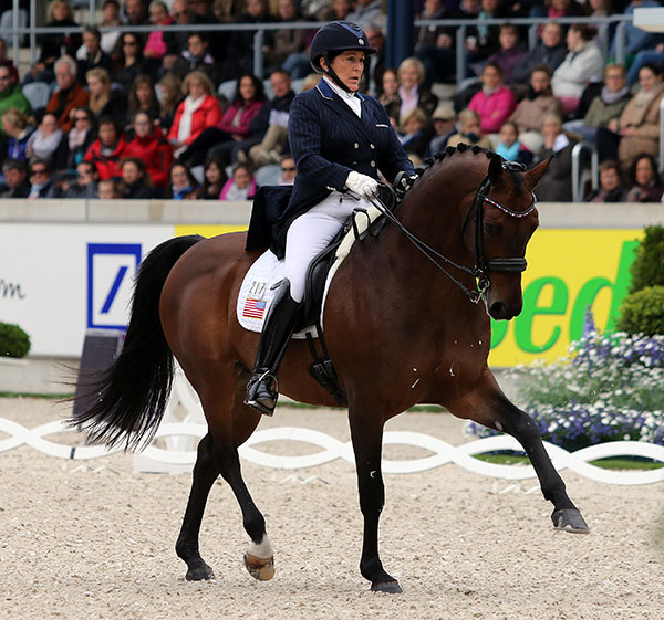 Shelly Francis and Doktor. File photo. © Ken Braddick/dressage-