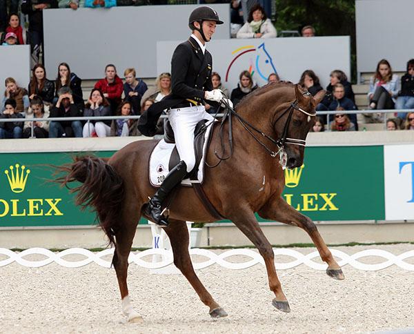 Sönke Rothenberger and Favourit. © Ken Braddick/dressage-news.com