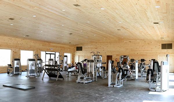 Fitness center. © 2015 Ken Braddick/dressge-news.com