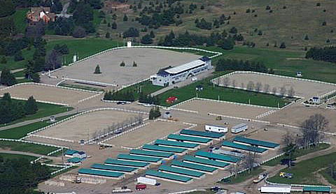 The Caledon equestrian venue for the Pan American Games,