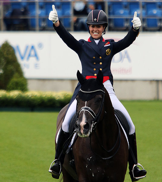 Horses etc llc the year in photos for Charlotte dujardin